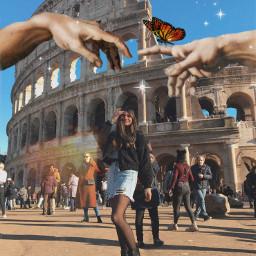 freetoedit roma italy colosseo coliseum