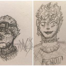 drawing fanart cool pencil doodle freetoedit