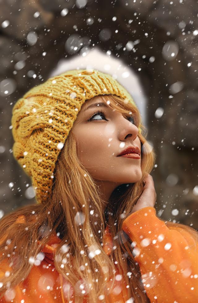 #freetoedit #snowday #picsart