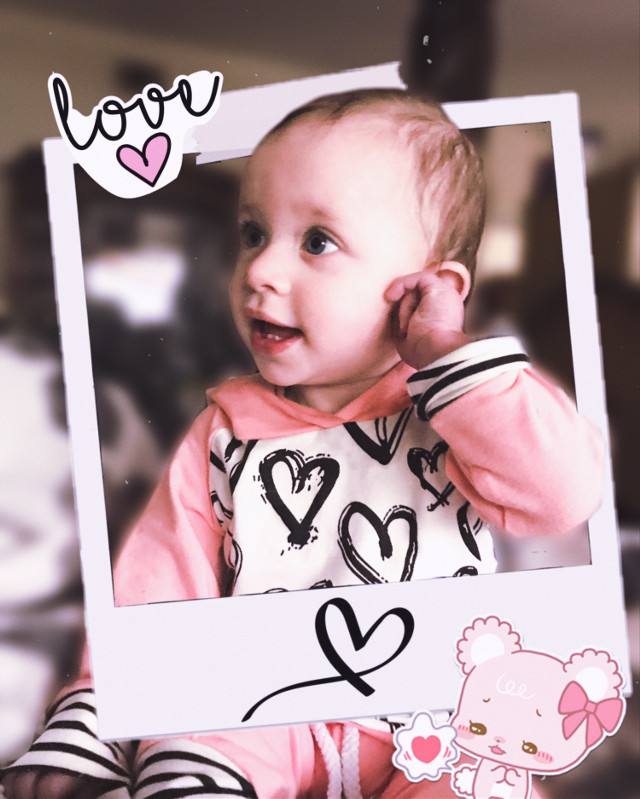 #freetoedit #myniece #baby #valentine #love #cute #myedit #pink #myphoto #interesting #art #people #photography #sweet #hearts #ootd #10months