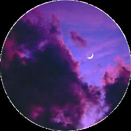 moon sky clouds sticker freetoedit scmoon