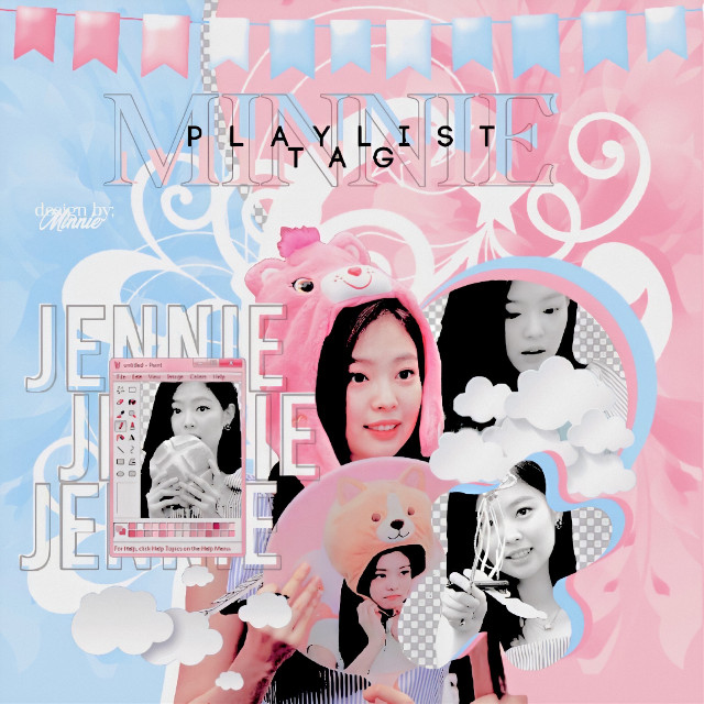 Da créditos si utilizas¡!💌 #Jennie #BlackPink #Kpop #Pastel #Edit