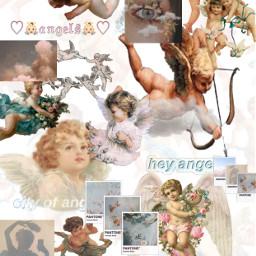 angel aesthetic core cute heaven freetoedit