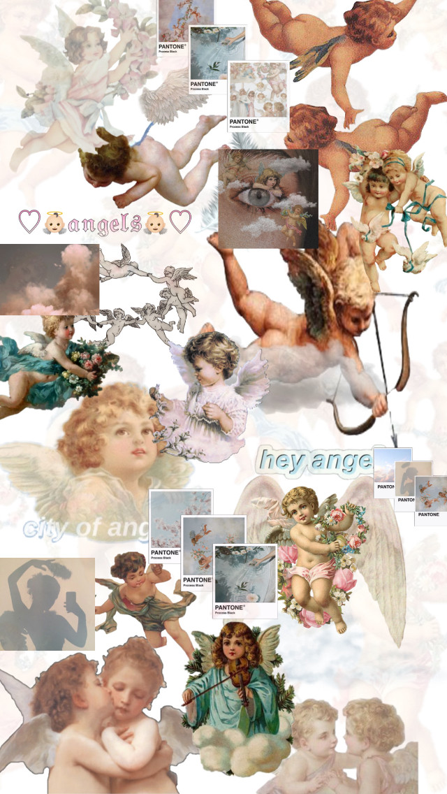 Aesthetics daily | Angel Core ✰𑁍♡ #Angel #Aesthetic #core #cute #heaven #✞ #freetoedit