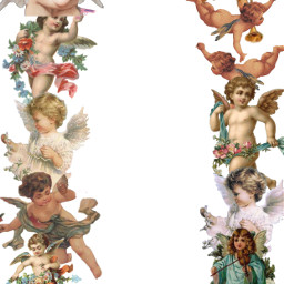 freetoedit angel aesthetic template cute