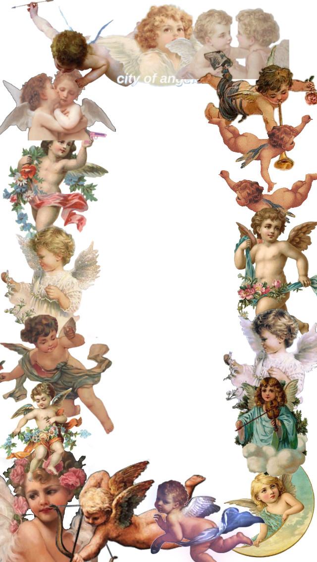 #freetoedit #angel #aesthetic #template #cute #heaven
