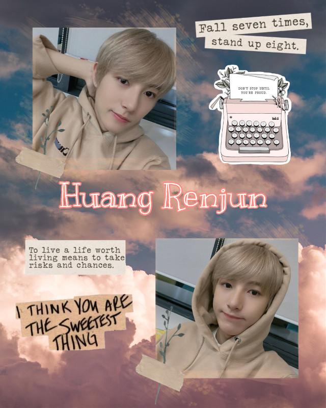 #freetoedit #huangrenjun #nctdream #kpop #editbyme