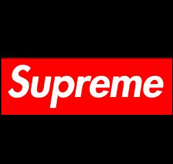 supreme brand trendy vintage red freetoedit