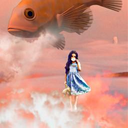 freetoedit creative interesting madewithpicsart picsart fantasy imagination surrealism art remixit remixed