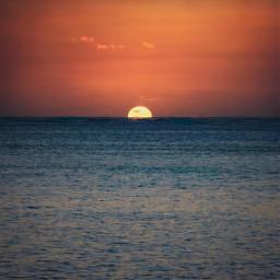 nature sunsettime endoftheday thebeach seaview freetoedit