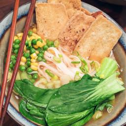 noodles ramen soup bowlfood vegan