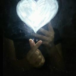 freetoedit fotography espejo heart corazon