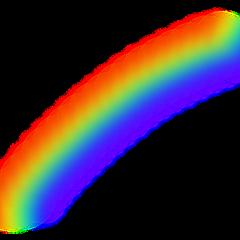 rainbow sky cute freetoedit