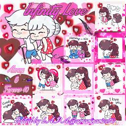 likebubble picsartchallange infinitylove always anime srclikebubble freetoedit