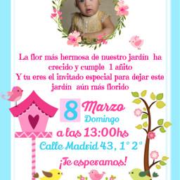 freetoedit invitacion invitations party birthday
