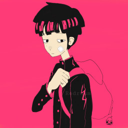 mob mobpsycho aesthetic ugly dimple