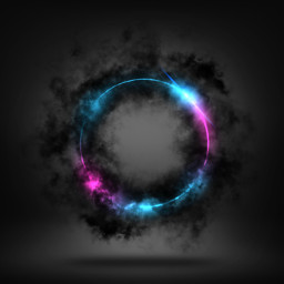freetoedit background neon smoke black