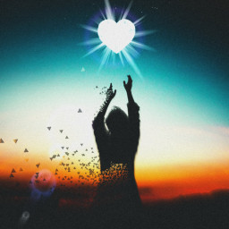 freetoedit heart love ircdancinginthemoonlight dancinginthemoonlight silhouette