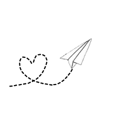 paper airplane white pcbeautifulbirthmarks happytaeminday freetoedit