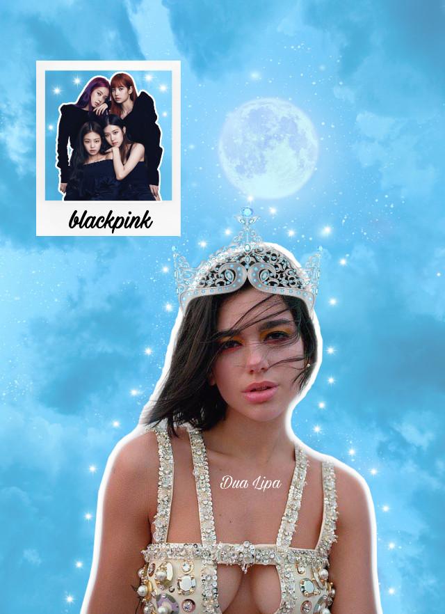 Dua lipa & Blackpink 💜 #blackpink #dualipa #france #interesting #art #california #japan #nature #night #summer #photography #blue #aesthetic #blueaedthetic #lotr #moon #friday  #freetoedit
