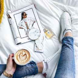 freetoedit coffee aesthetic fashion chanel coffeecup pccoffeecup