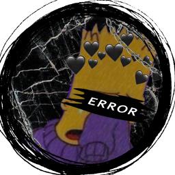 bart bartsimpson sad error secondpics freetoedit