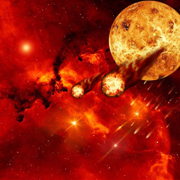 planets spacetime spaceart universe galaxy freetoedit