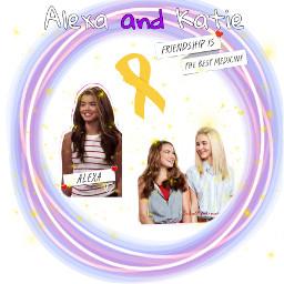 freetoedit alexaandkatie cancer fightcancer bffs