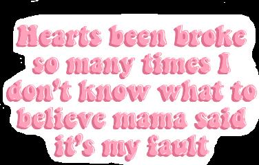 hearts been broke so many freetoedit