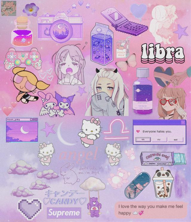 Just some stickers i really like 😼😚           #purple #purpleaesthetic #purpleandpink #pink #pinkaesthetic #anime #animegirl #animeedit #animeedits #animeaesthetic #animeaesthetics #hellokitty #leapyear #space #moonlight #feb29 #melody #libra #bubbles #pinkandpurple #freetoedit