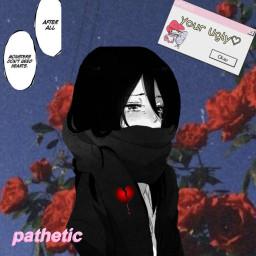 freetoedit anime sad pathetic angst