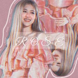 rosesarebeautiful blackpinkrose aesthetic picsart kpop freetoedit