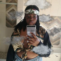 freetoedit clouds southafrican mirrorselfie edit