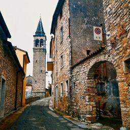 church belltower village oldvillage