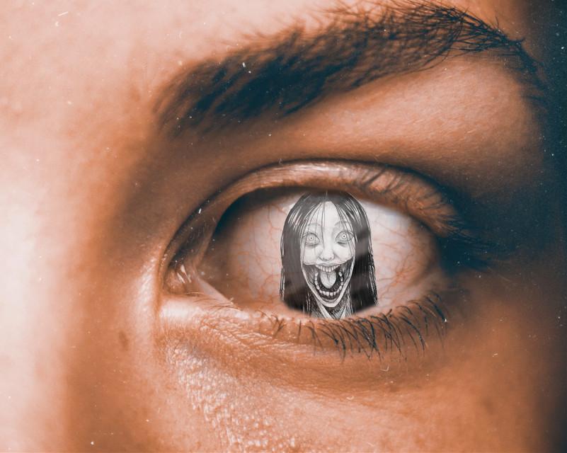 #freetoedit #horror  # eye