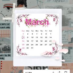 art freetoedit month march 2020 srcmarchcalendar marchcalendar