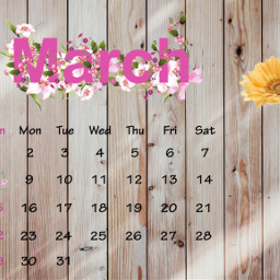 freetoedit march calendar aesthetic srcmarchcalendar marchcalendar