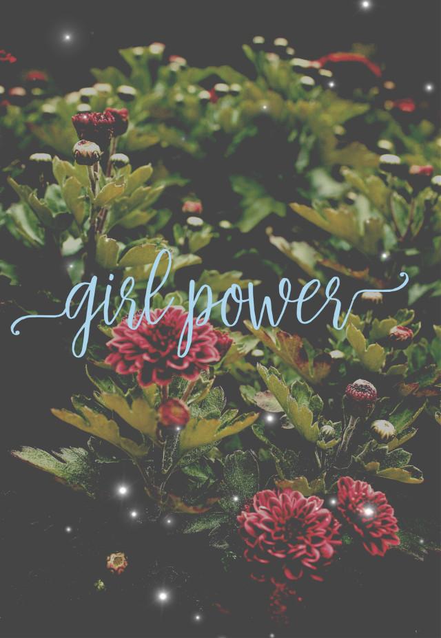 💜💜 GIRL POWER💜💜 #flowers #girlpower #thefutureisfemale #feminist