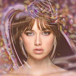 woman beautiful accessories madewithpicsart multipleeffects freetoedit srcneoncircle neoncircle