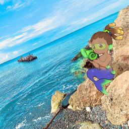 freetoedit lucio overwatch mermaid luciooverwatch
