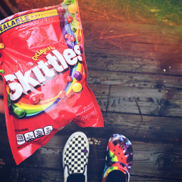 freetoedit vans crocs cute skittles
