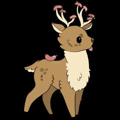 sticker elk sausage funny art freetoedit