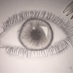 eye drawing progress whatdoyouthink realistic