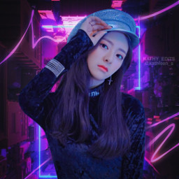 freetoedit yuna itzy kpopedit idol