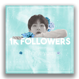 kpop 1k 1kfollowers thankyou thanks freetoedit