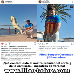 realsenyeracoronada el llibertadors ¡𝙋𝘼𝙍𝙀𝙈 valencianlanguageisnotcatalan valenciaisnotcatalonia llenguavalenciana