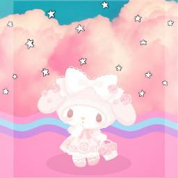 freetoedit kawaii cute anime mymelody