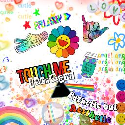 aesthetic a_double_rainbow rainbow freetoedit