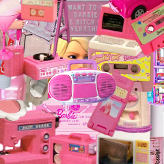 barbie pink aesthetic old vintage freetoedit