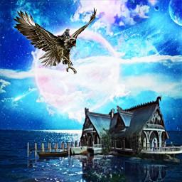 freetoedit vipshoutout eagle wizard elvish
